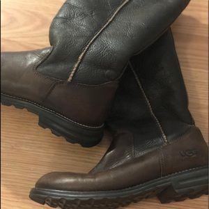 Real leather Tall authentic Ugg boots